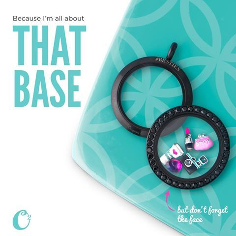 We're all about that *Base*... but don't forget the *Face*! Complete your Locket look with the perfect combination!