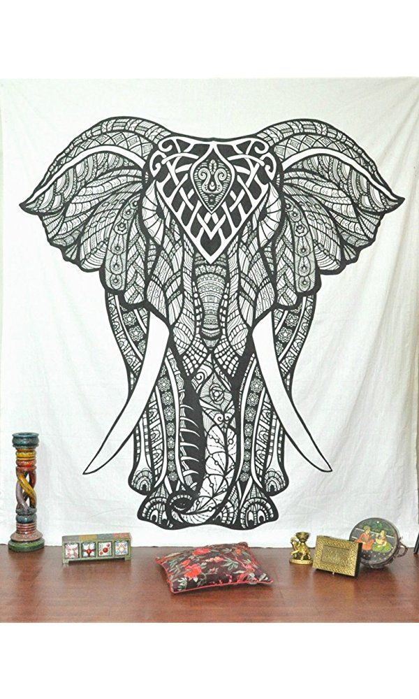 oltre 25 fantastiche idee su elephant tapestry su pinterest ... - Arredamento White Elephant