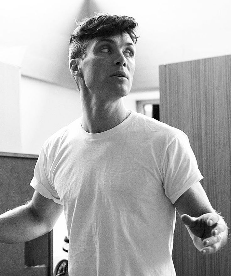 """ohfuckyeahcillianmurphy: """"Cause of death: Cillian Murphy's white tee (from our instagram) """""""