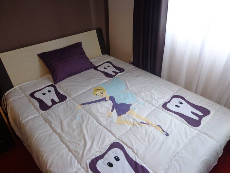 Quilt - bedspread  tooth fairy