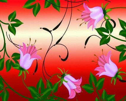 Flowers, Background, Backdrop