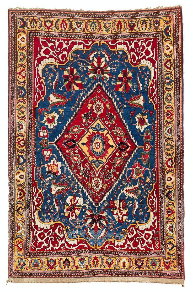 Qashqa I Kashkuli Rug Southwest Persia Late 19th Century