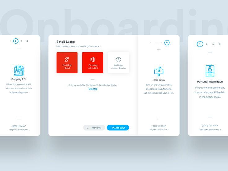 Hi guys. A simple 4 step on-boarding process for the CRM dashboard. How do you guys handle on-boardings for websites and web-related products? Would love to see some solutions. (please no mobil...