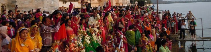 Mewar Festival celebrated in Udaipur, India is a festival that marks the advent of spring. The festival is an integral part of the culture and tradition inUdaipur. People in various parts of Udaipur enthusiastically take part in this festival. The city boasts a colorful look during this festival.     An exhilarating welcome to spring, this festival is a visual feast with Rajasthani songs, dances, processions, devotional music and firework displays. It is celebrated in the romantic city of…