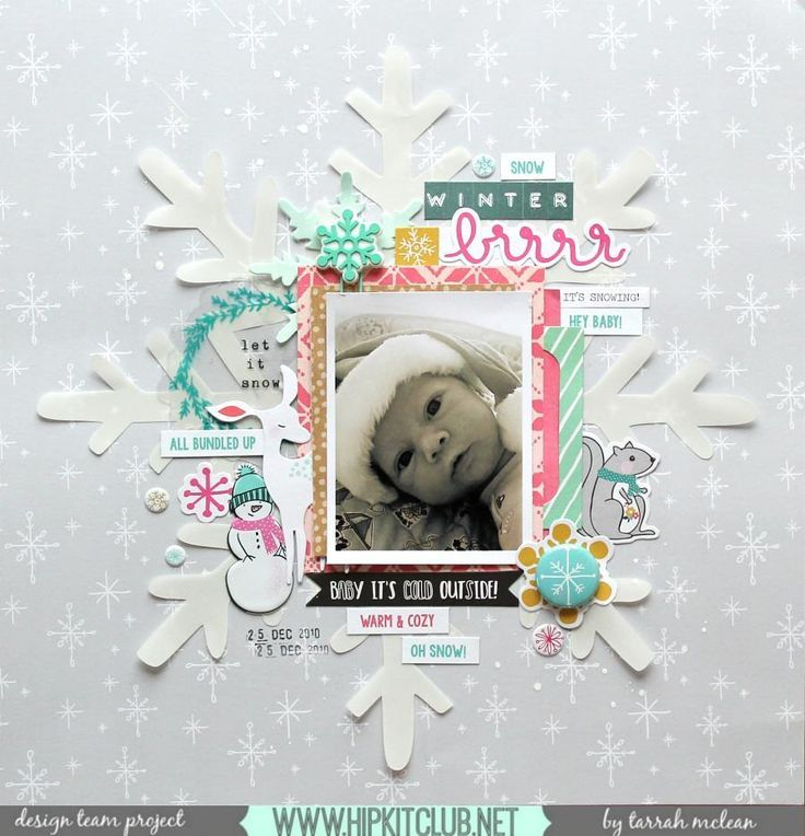 Try enlarging one of our cut files to add behind all your pretty layers just as designer @tarrahm has! Tarrah used the #november2016 #hipkits to create her wintery layout!  @hipkitclub #hkcexclusives #exclusives #hipkitexclusives @cratepaper #snowandcocoa @pinkfreshstudio #ohjoy #hipkitclub #silhouettecameo #cutfiles #winter #snow #kits #papercrafting #kitclub #scrapbookingkitclub