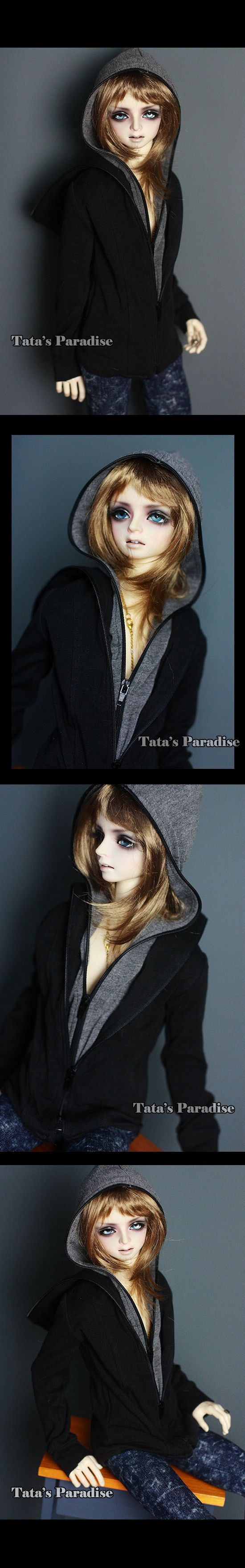 NO:MLD202 Double hat hoodie-A_HOUND/DZ 70/DOI_TA·CLOTHES_TATA'S PARADISE