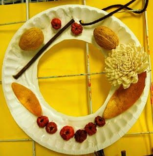 Titina's Art Room: 3 εύκολες ιδέες για να δημιουργήσετε φθινοπωρινά στεφάνια (ΙΙ)