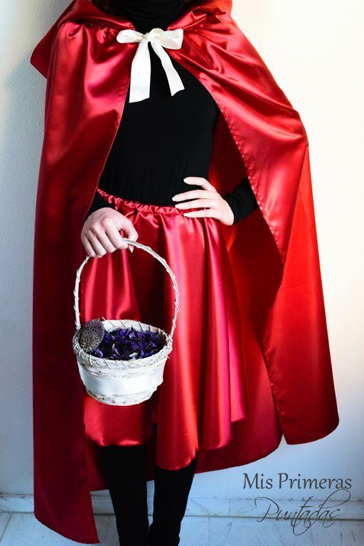 Disfraz de Caperucita Roja   Manualidades