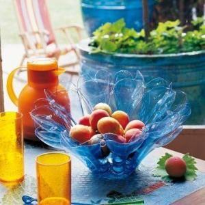 Вдохновение: бутылки с водой в корзину #recycle #reuse #repurpose #diy #crafts по Natalie-ш