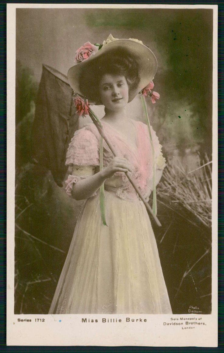 Theater edwardian lady miss billie burke original old