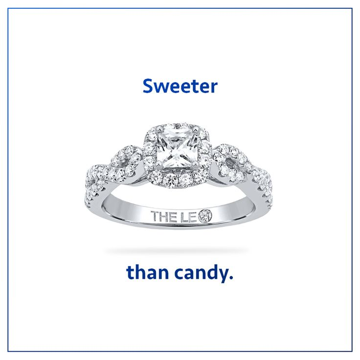 A Leo Diamond is sweeter than candy! #LeoDiamond #VisiblyBrighter
