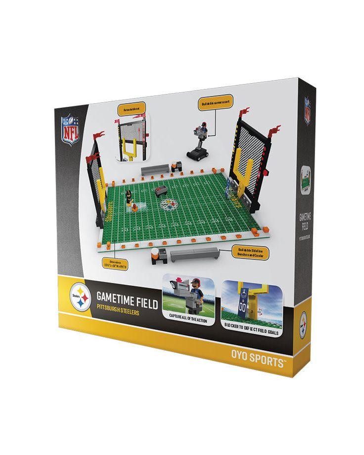 Pittsburgh Steelers Football Team Gametime Set 2.0 OYO Playset
