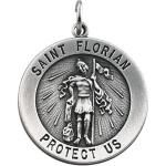 Silver St Florian Medal- I like this one better!