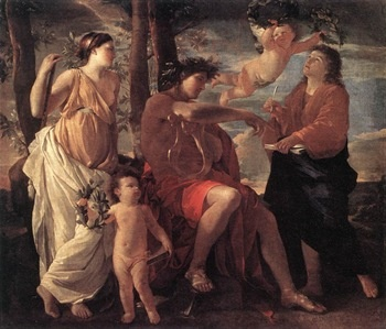 best narcissus images mythology beautiful  echo and narcissus nicolas poussin