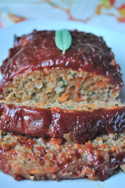 Turkey meatloaf... Meatloaf is definitely not one of my favorite foods but as meatloaf goes this one isn't bad!