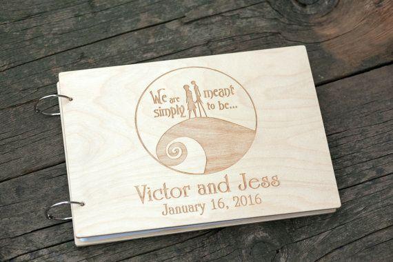 Gastenboek bruiloft gastenboek gepersonaliseerd door woodlack