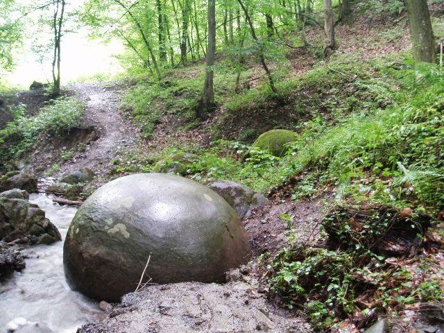 Natural stone balls in Bosnia and Herzegovina