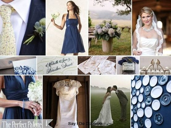 navy-blue-wedding-palette | Navy Blue Wedding Color Theme ...