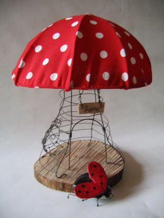 creative mushroom