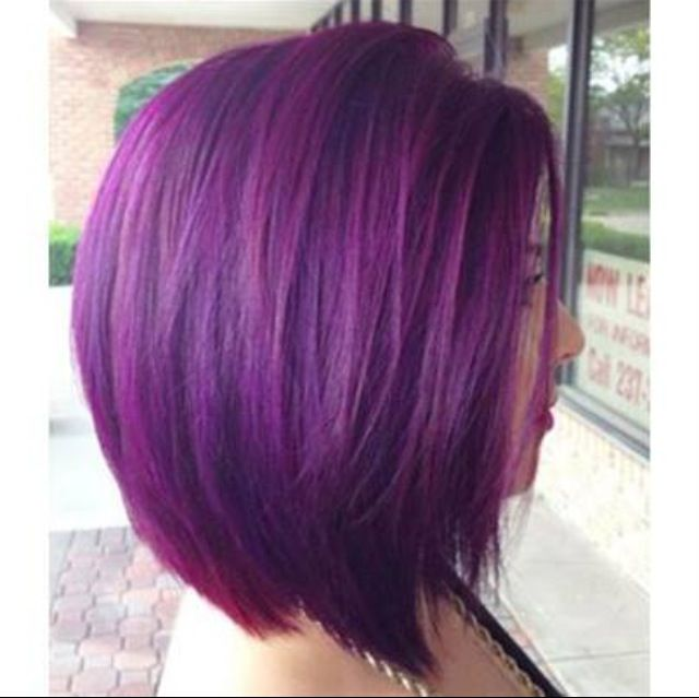 hair styles after chemo vibrant violet hair using schwarzkopf colors hair and 3867