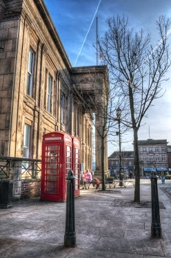 Macclesfield Town Hall, Cheshire.