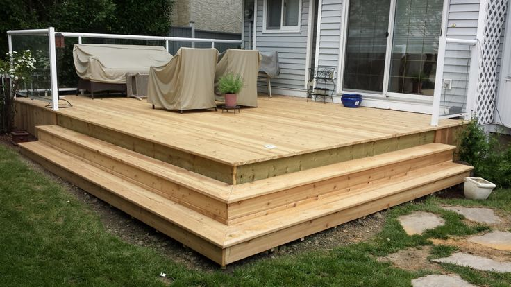 Deck Box Stairs Images In 2019 Deck Stairs Deck Box Deck