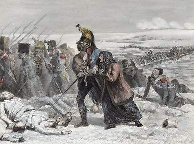 Passage De La Bérézina, Décembre 1812