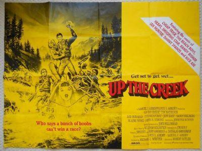 Up the Creek, Original UK Quad Poster, Tim Matheson, Jennifer Runyon, '84
