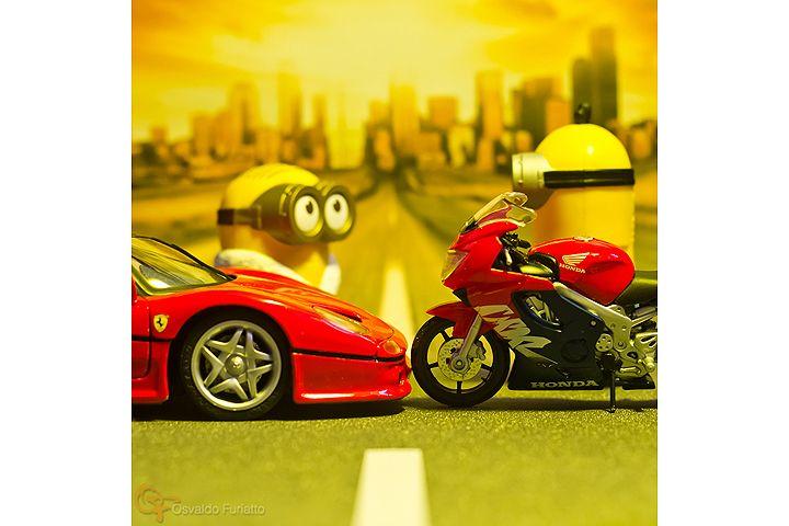Minions em uma moto por dia: Dia 29