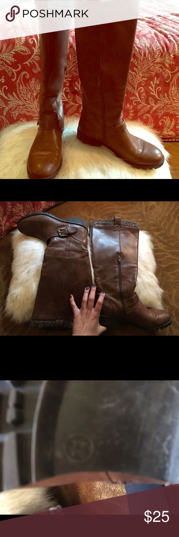 What can you wear with camel-colored boots?