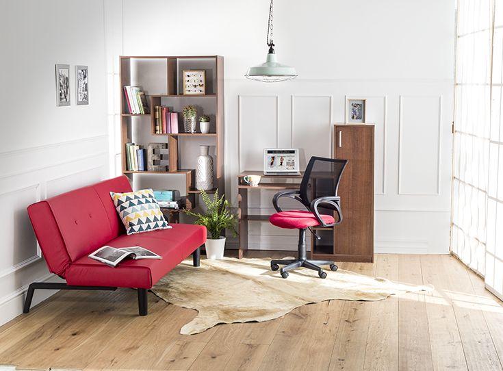 """Un concepto """"living-office"""", ¡es posible! #HomeOficce #YoAmoMiCasa #Muebles #Escritorios #tiendaeasy  #easytienda"""