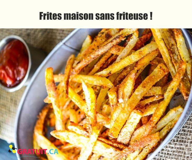 Personne ne croira que ces frites ne sont pas frites!
