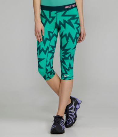 Nike Pro Printed Capri Pants | Dillards.com