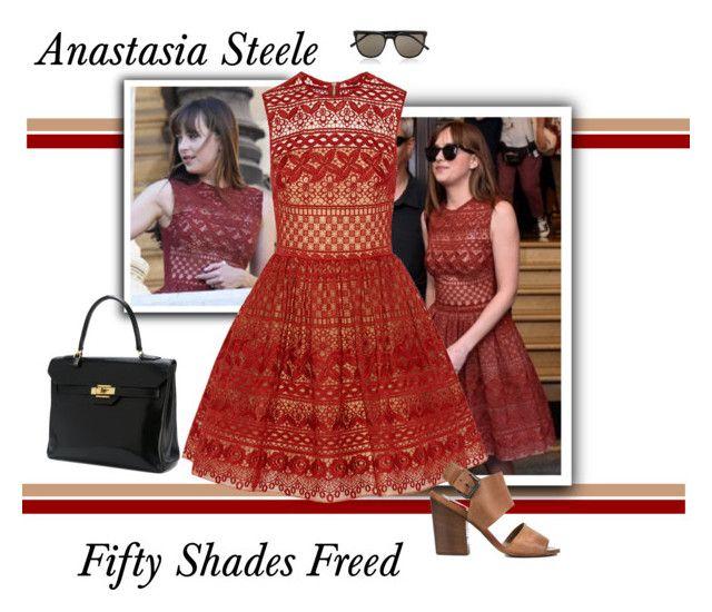 Anastasia Steele Fifty Shades Freed Anastasia Steele Style Anastasia Steele Outfits Anastasia Steele Dress