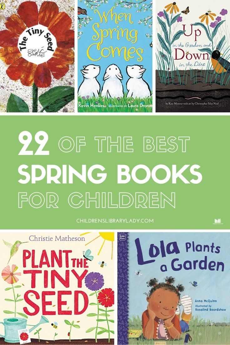 22 Of The Best Spring Books For Children In 2020 Book Activities