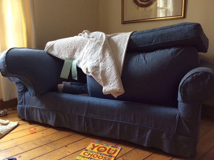 Die besten 25+ Sofa fort Ideen auf Pinterest Tolle festungen - bett und sofa einem orwell projekt goula figuera