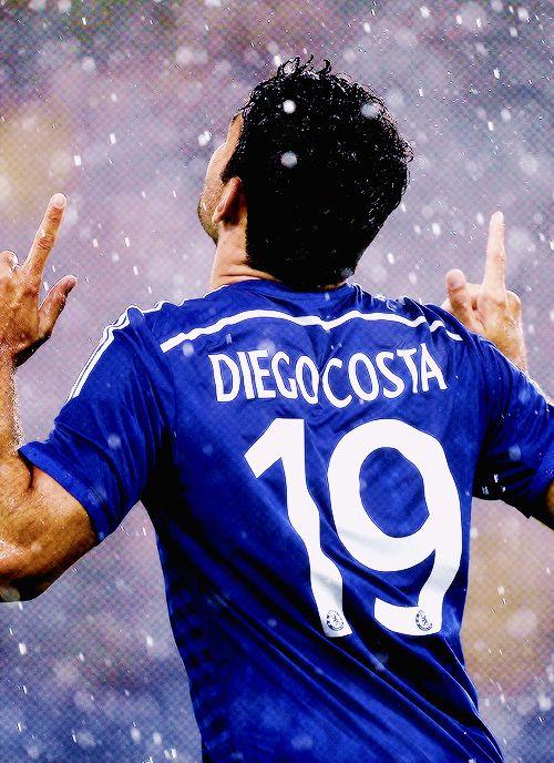 Estás rompiendo reglas del universo. Ya eres grande !!! #ChelseaFC #Costa