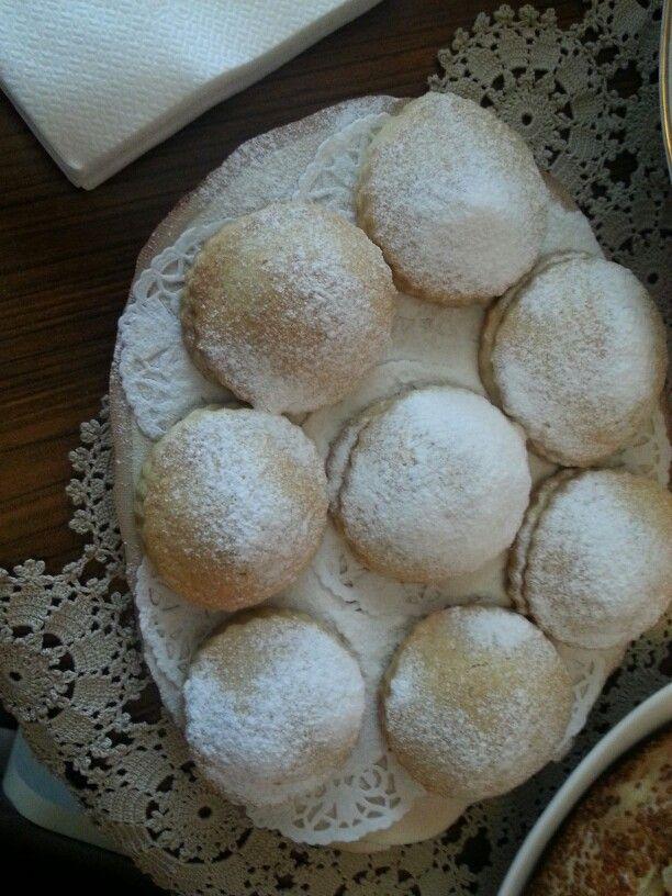 Annemin isteği üzerine lokumlu kurabiye