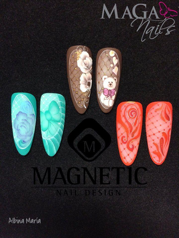 Cute nail art design by albina maria garcia nails by albina maria garcia garrido pinterest - Foil nail art ...