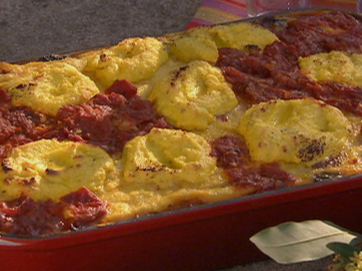 Polenta Lasagne Recipe : Michael Chiarello : Food Network - FoodNetwork.com