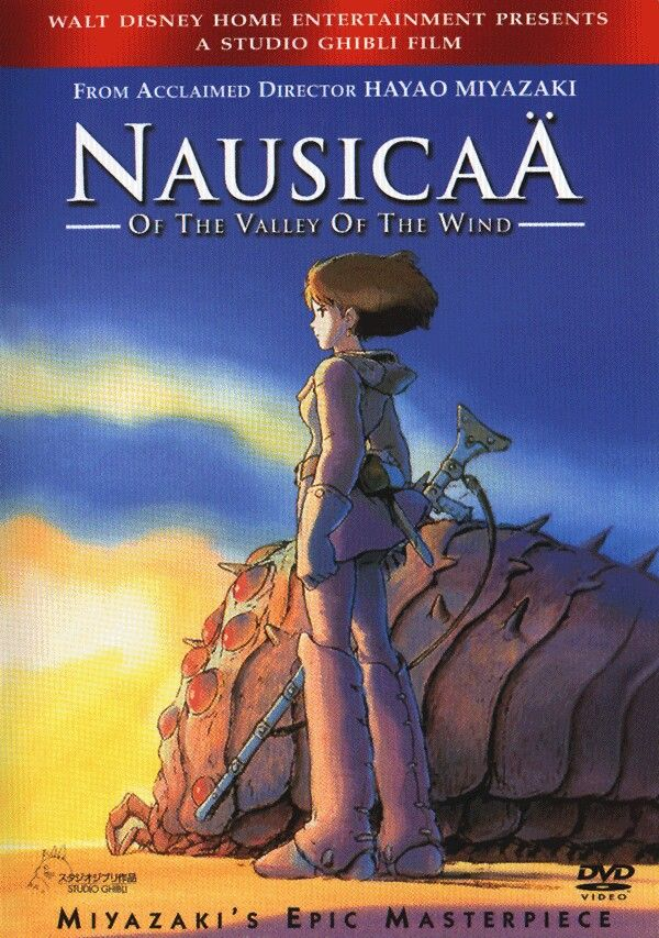 Nausicaa of the Valley of the wind is an amazing story with a relateable and badbutt heroine and an amazing plot, not to mention it's gorgeous.