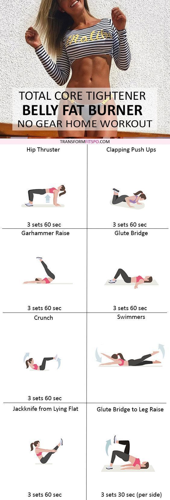 Repin and share if this workout got you in ripped shape! The results are crazy! Check the post for all of the information!