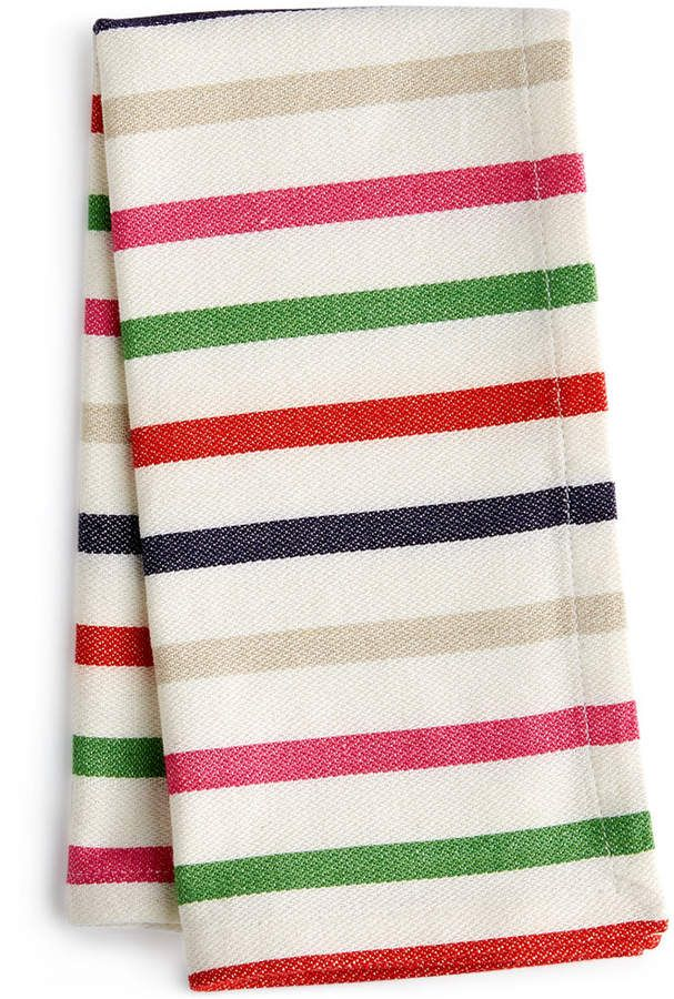 kate spade new york New Food For Thought Table Linens Collection Striped Napkin #ad