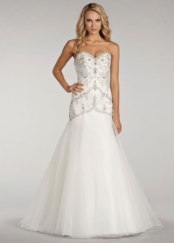1000 images about wedding dresses in store on pinterest for Lazaro a line wedding dress