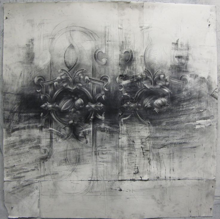 Matthew Woodward, Mixed media and graphite on paper, 2011 series