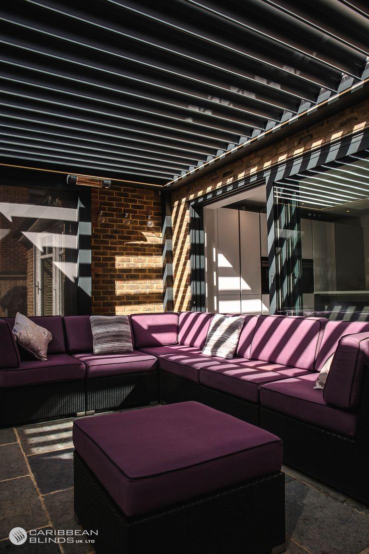 Louvered Pergola Prestige Rotate & Slide Roof Model