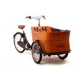 Babboe Curve, Dutch 3-wheel cargobike
