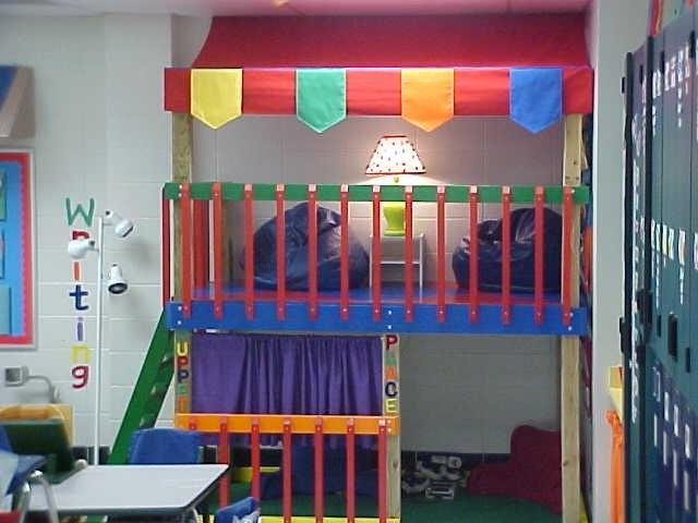 Classroom Loft Ideas ~ Best images about diy classroom furniture on pinterest