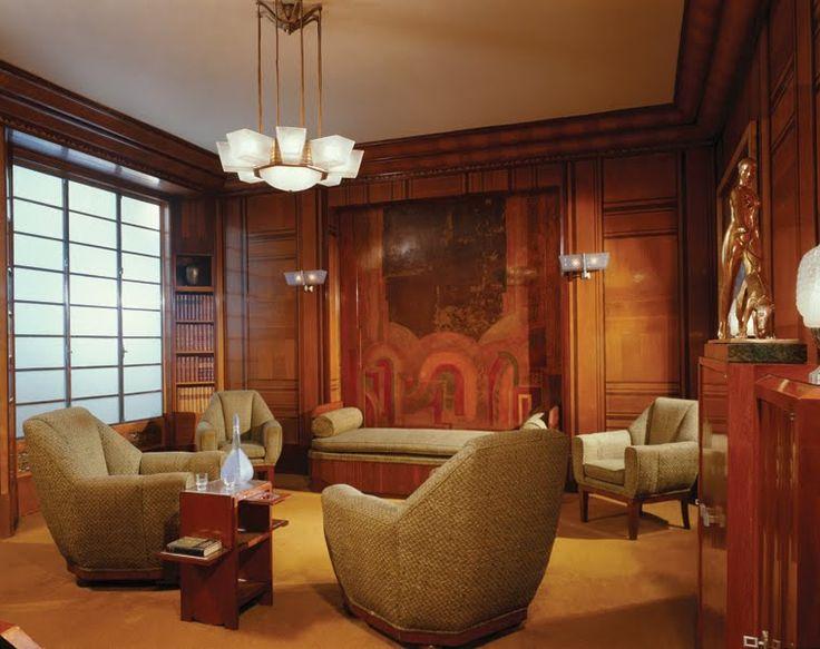 17 beste idee n over art deco interieurs op pinterest art deco art deco kamer en art deco patroon - Deco kamer stijl engels ...