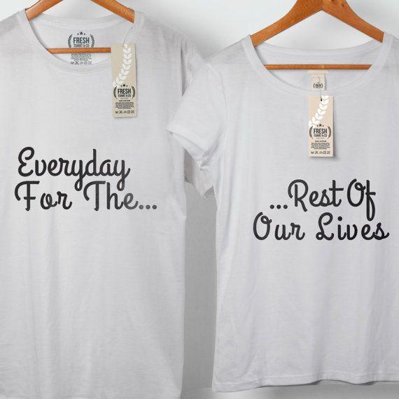 Todos los días para el resto de nuestra vidas par por FreshTshirtCo